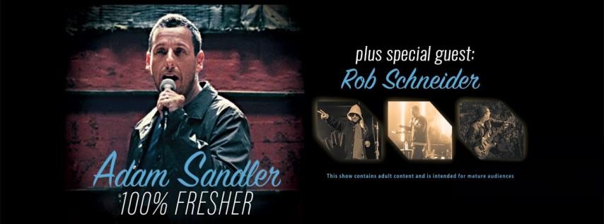 Adam Sandler with Rob Schneider