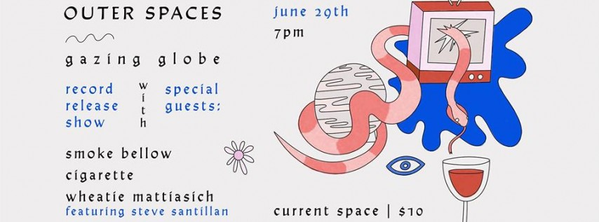 Outer Spaces Record Release with Smoke Bellow and more