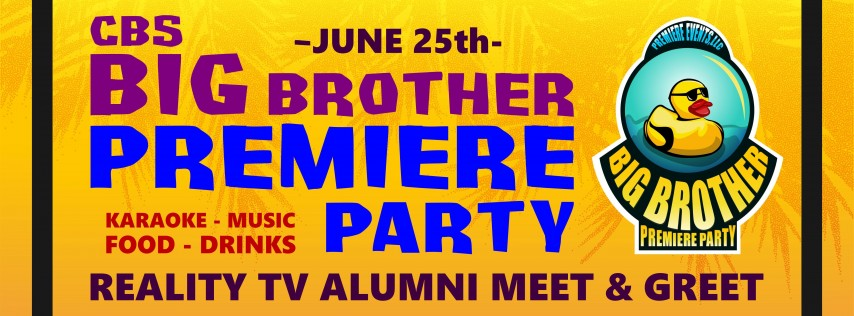 Big Brother 21 Premiere PARTY, New York City NY - Jun 25