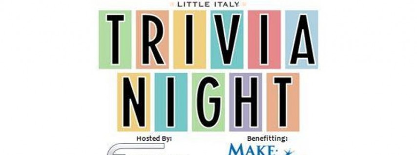 Trivia Night for Charity