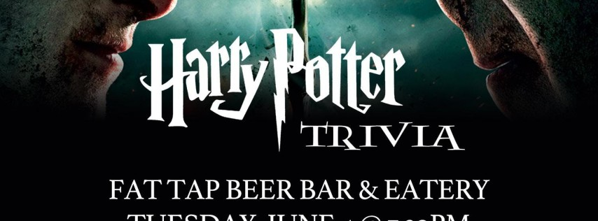 Harry Potter (Movie) Trivia at Fat Tap Beer Bar and Eatery