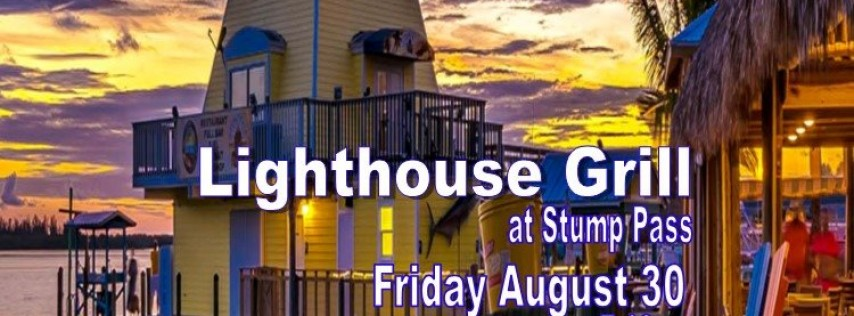 Friday August 30, Tropical Ave at Lighthouse Grill 7-10p