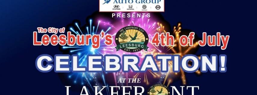 Leesburg's 4th of July Celebration!