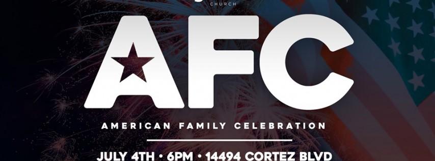 American Family Celebration