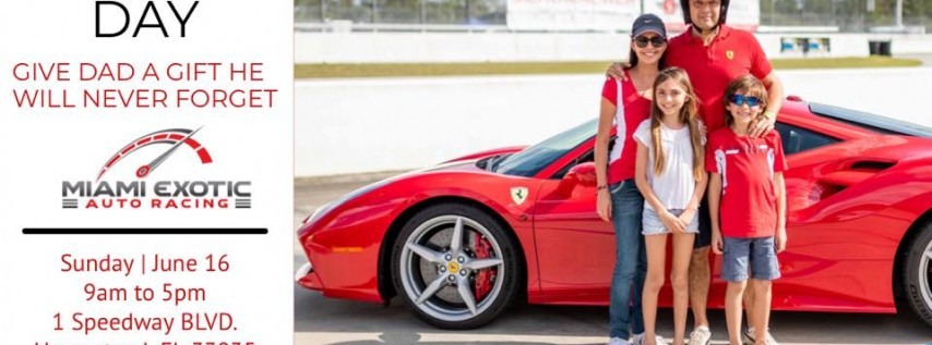 TRACK DAY : JUNE 16th | THE PERFECT FATHERS DAY GIFT