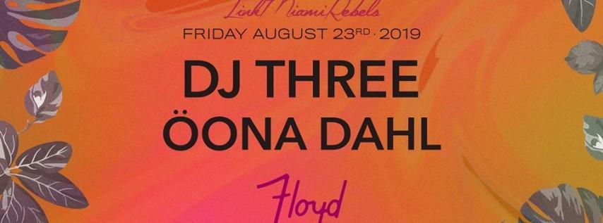 DJ Three and Öona Dahl by Link Miami Rebels
