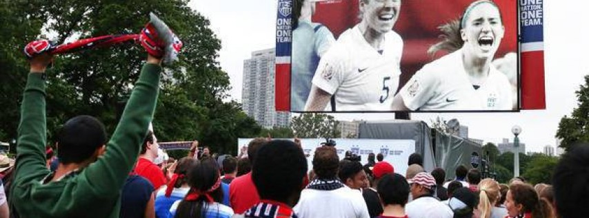 World Cup Screening in the Park