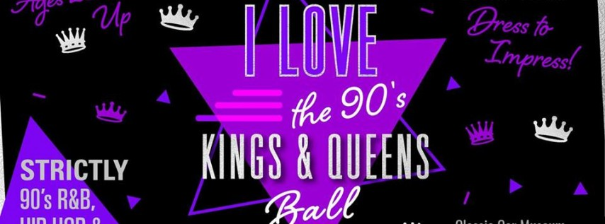 I Love 90's Reggae, R&B & Hip Hop Ball