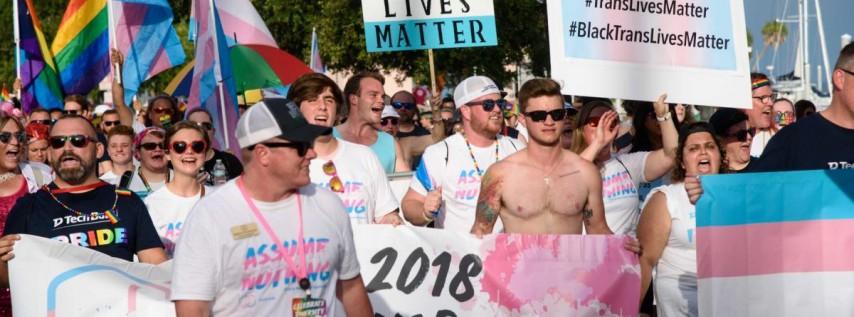 2019 St Pete Pride TransPride March