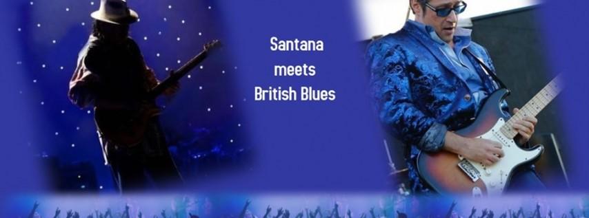 Concert event - Music of Santana meets British Blues Rock