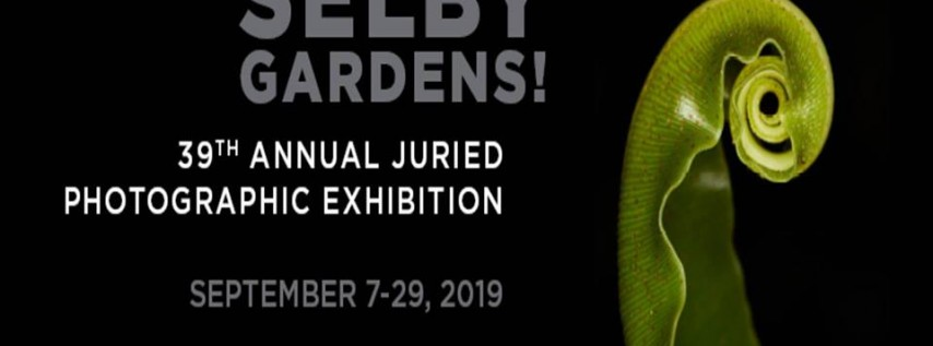 39th Annual Juried Photographic Exhibition