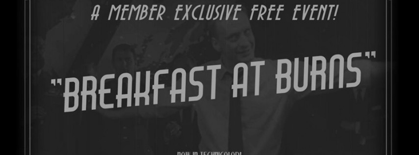 Breakfast at Burns: Shadow of a Doubt