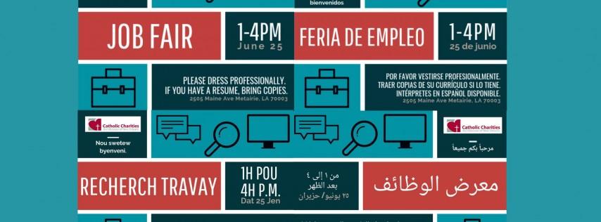 CCANO Immigration and Refugee Services Job Fair