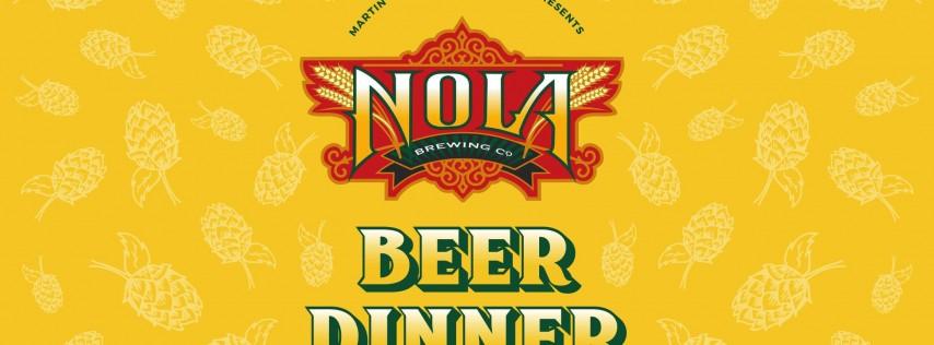 NOLA Beer Dinner