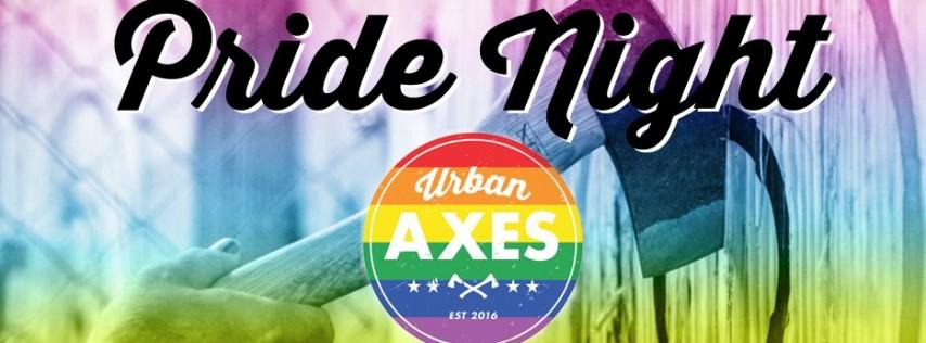 Pride Night at Urban Axes!