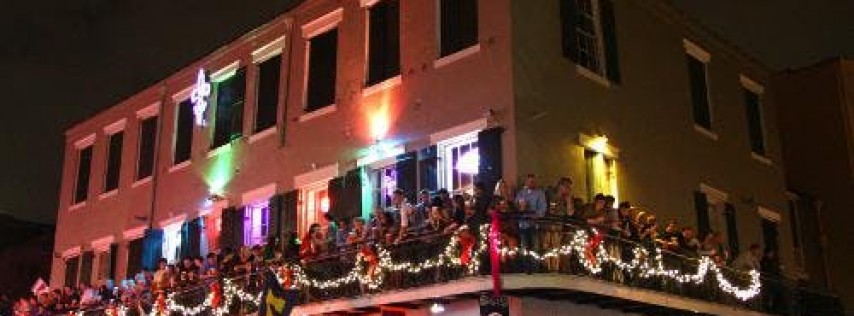 Halloween Balcony Party on Bourbon Street