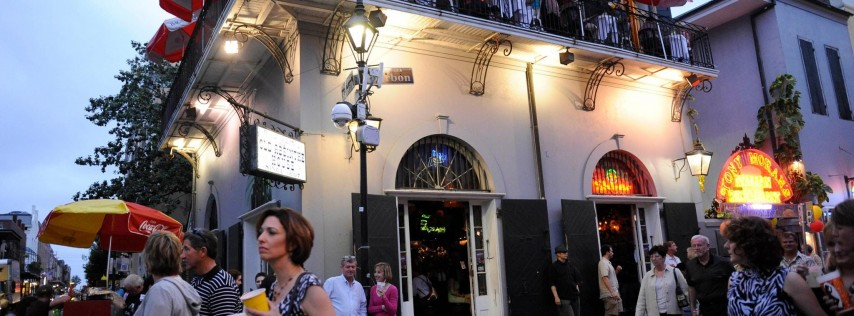 BACCHUS SUNDAY VIP BALCONY EXPERIENCE  AT THE OLD ABSINTHE HOUSE