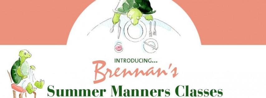 Brennan's Children's Summer Manners Classes