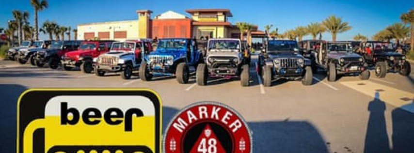 Jeeps & Brews - Show n' Shine @ Marker48 w/ live band and food!