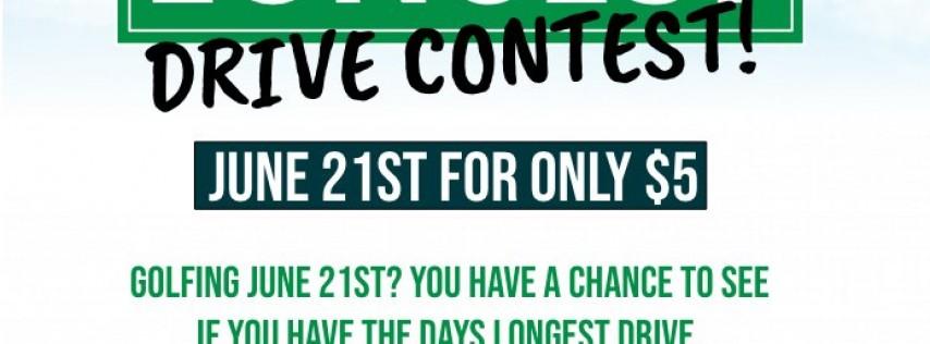 Longest Drive Contest
