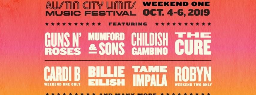 2019 ACL Fest - Weekend 1