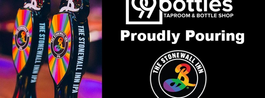 99 Bottles Pride Happy Hour featuring The Stonewall Inn IPA