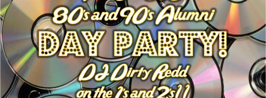 Old SSC 80's & 90's Alumni Day Party!