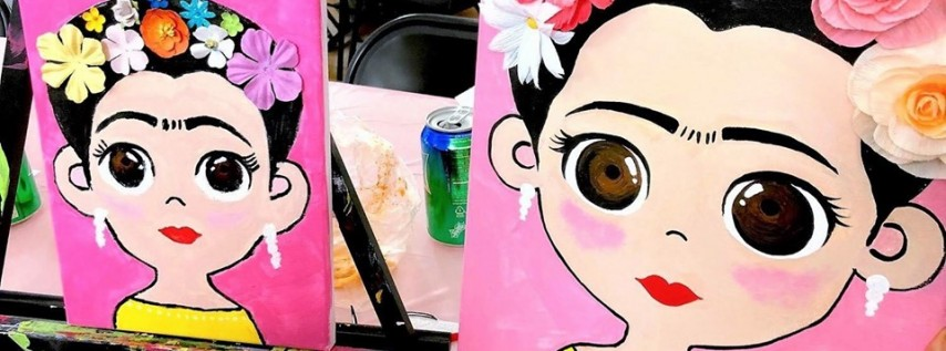 Sold out* FRIDA Paint Class for KIDS