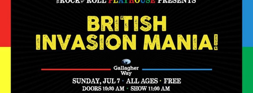 The Rock and Roll Playhouse: British Invasion Mania for Kids