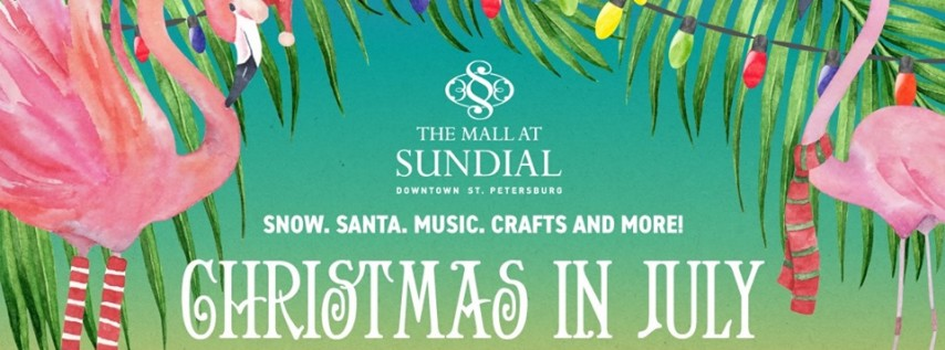 Christmas in July at Sundial
