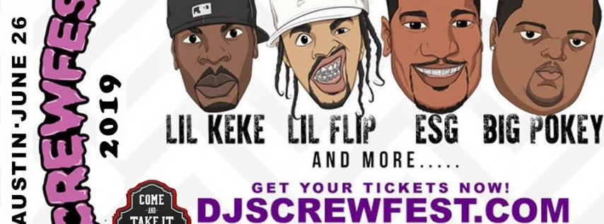 SCREWFEST 2019 - AUSTIN • WED JUNE 26TH at COME AND TAKE IT LIVE