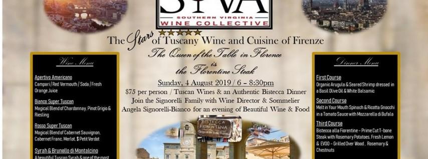 The Stars of Tuscany Wine Dinner