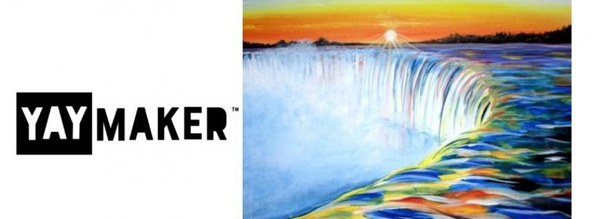 Paint Nite: Niagara Sunrise