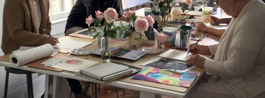 Watercolor Painting for Adults   Mondays of July