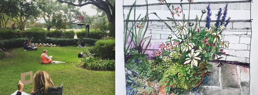Urban Landscapes: Drawing & Watercolor Class for Adults   Thursdays of July