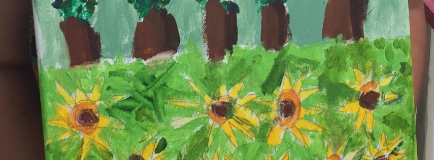 Painting, Drawing, & Paper Crafts for Kids: Wednesdays in July