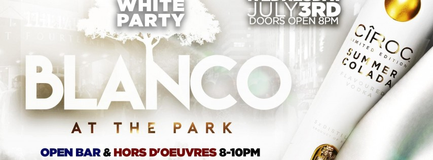 Blanco at The Park! | All White Party!