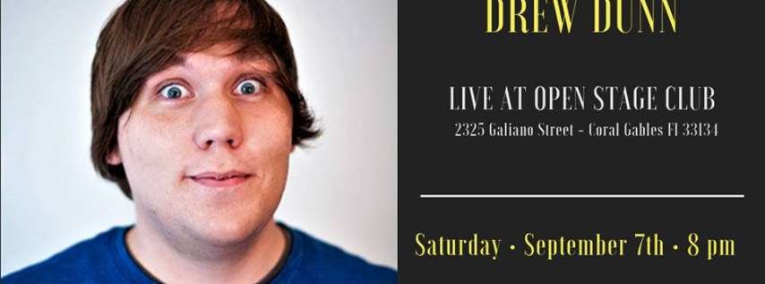 Have-Nots Comedy Presents Drew Dunn