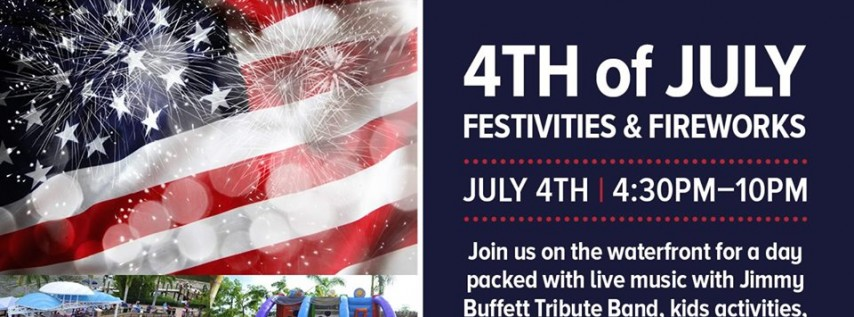 4th of July! Jimmy Buffett Tribute & Fireworks!
