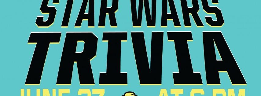 STAR WARS Trivia Night - June 27th
