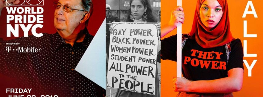 Rally: Stonewall50 Commemoration: WorldPride 2019   Stonewall 50