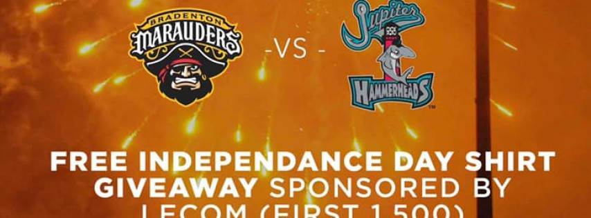 July 3rd Marauders Independence Day, Jersey Raffle for MOTSpin LECOM Park