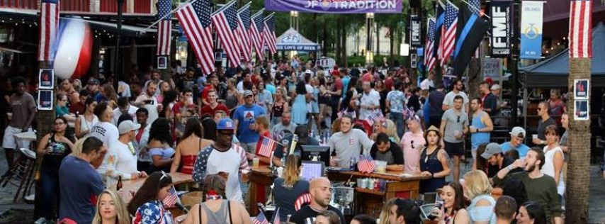 Red, White & Brew Block Party