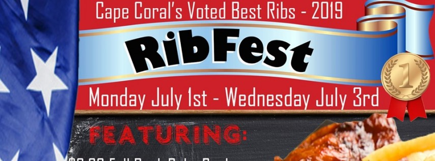 4th of July Week RibFest Featruing $6.99 Full Racks to go