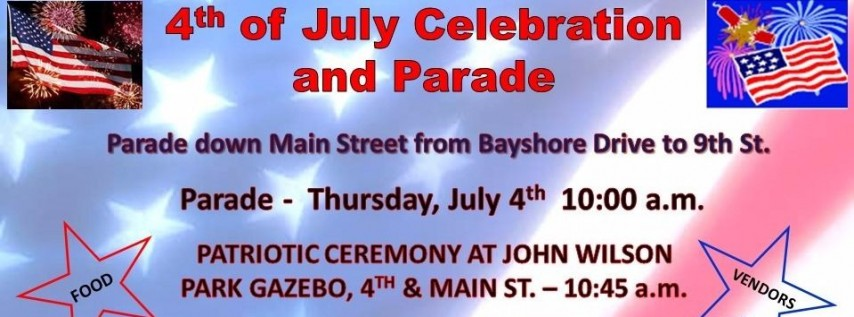 4th of July Parade Ride in Safety Harbor