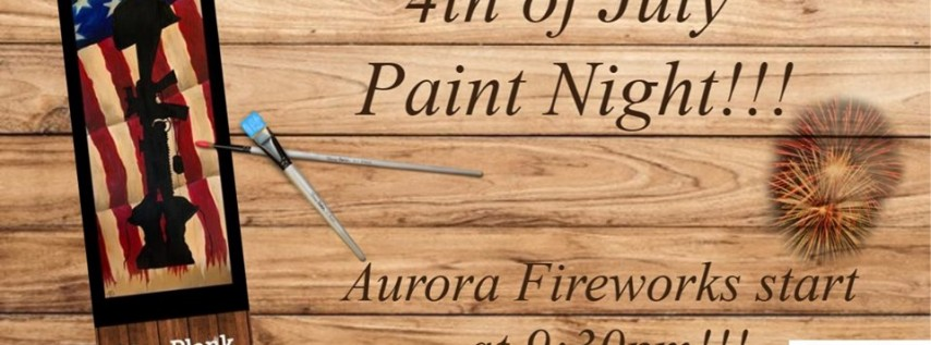 Battle Cross 4th of July Paint pARTy!
