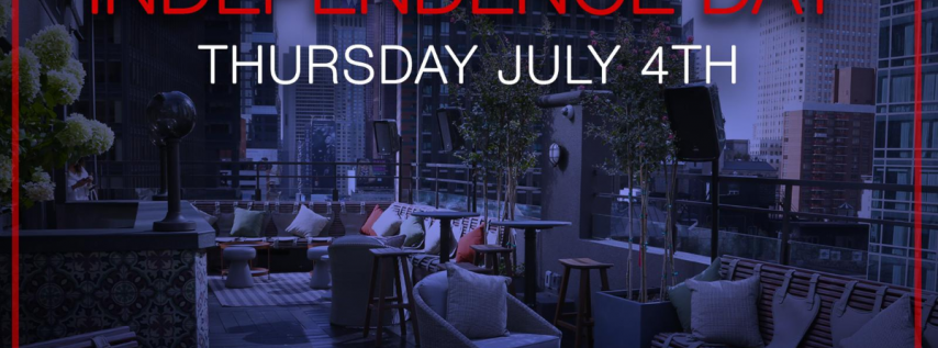 4th of July at PHD Terrace Dream Hotel