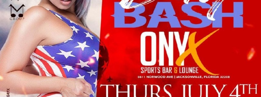 INDEPENDENCE DAY BASH @ ONXY THURSDAY 4TH OF JULY
