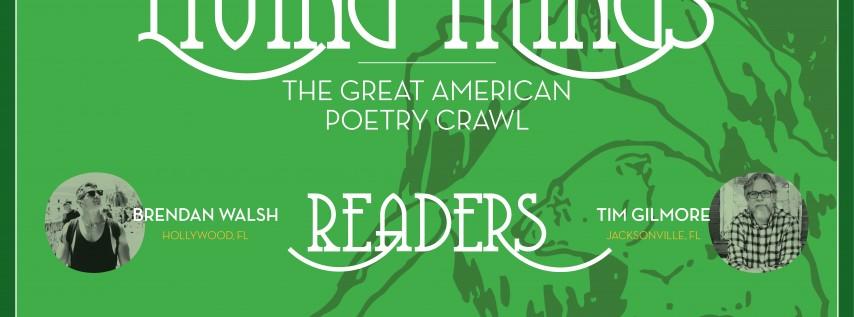Great American Poetry Crawl: Jacksonville