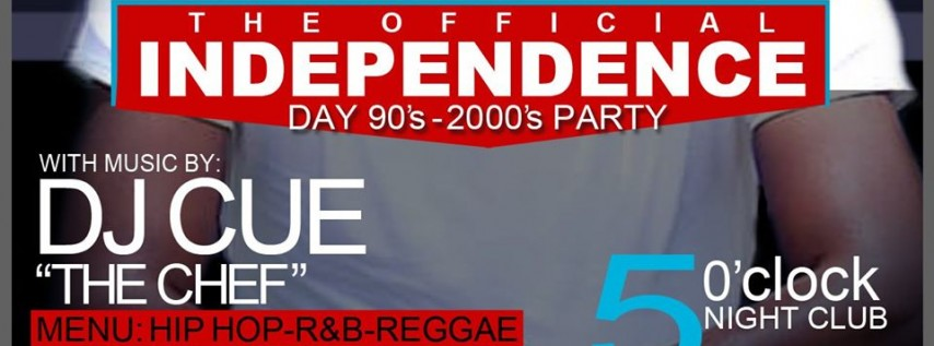 July 4th '90's-2000's' Throwback Party